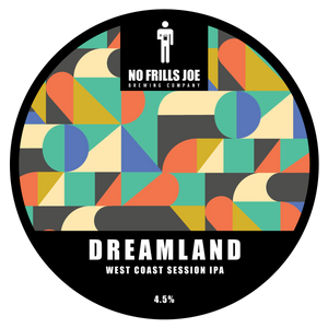 Draught 4 Pints | Dreamland - West Coast Session IPA | 4.5% ABV