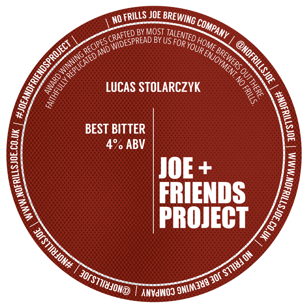 Best Bitter By Lucas Stolarczyk | 4.0% ABV