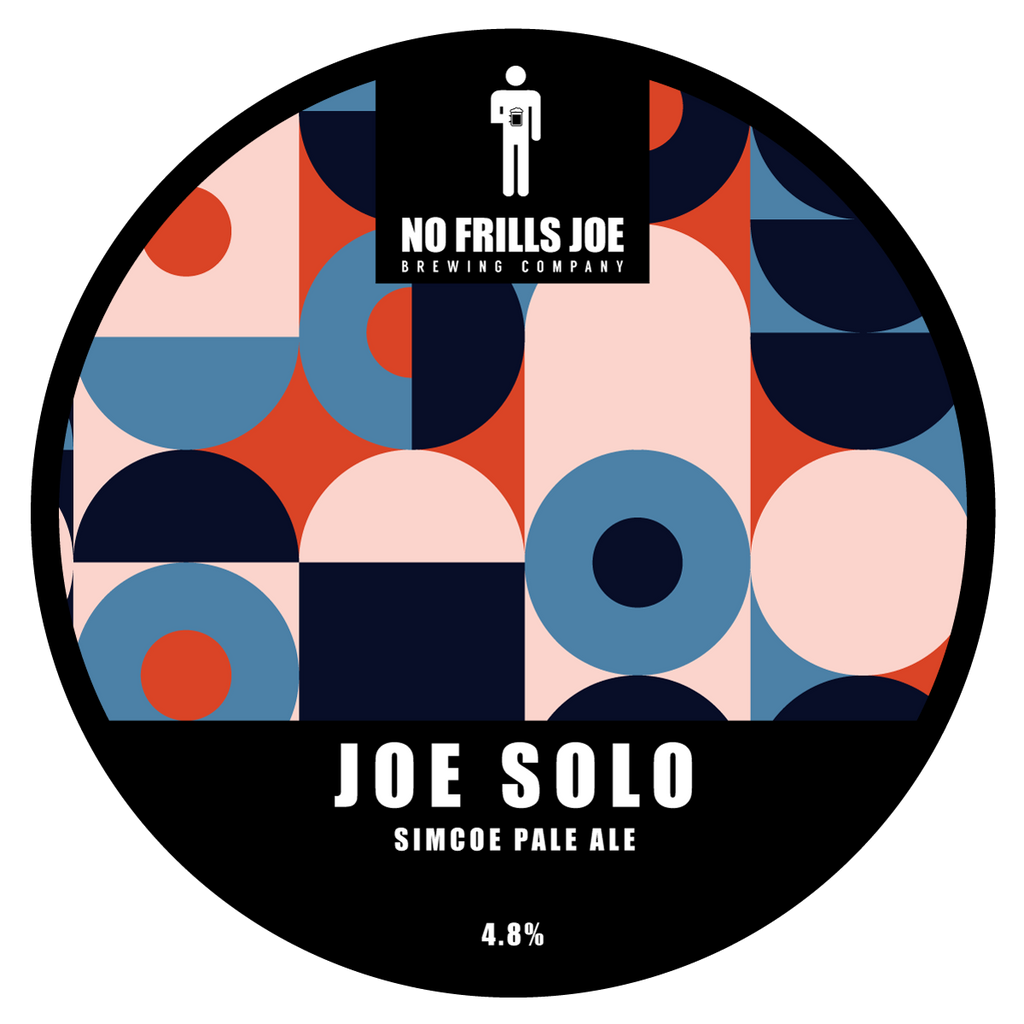 Draught 4 Pints | Joe Solo - Simcoe Pale Ale | 4.9% ABV