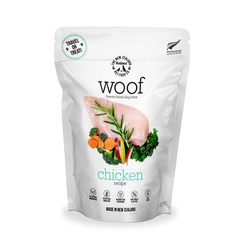 The New Zealand Natural Pet Food Co Woof Chicken Dog Bites | Smack Bang