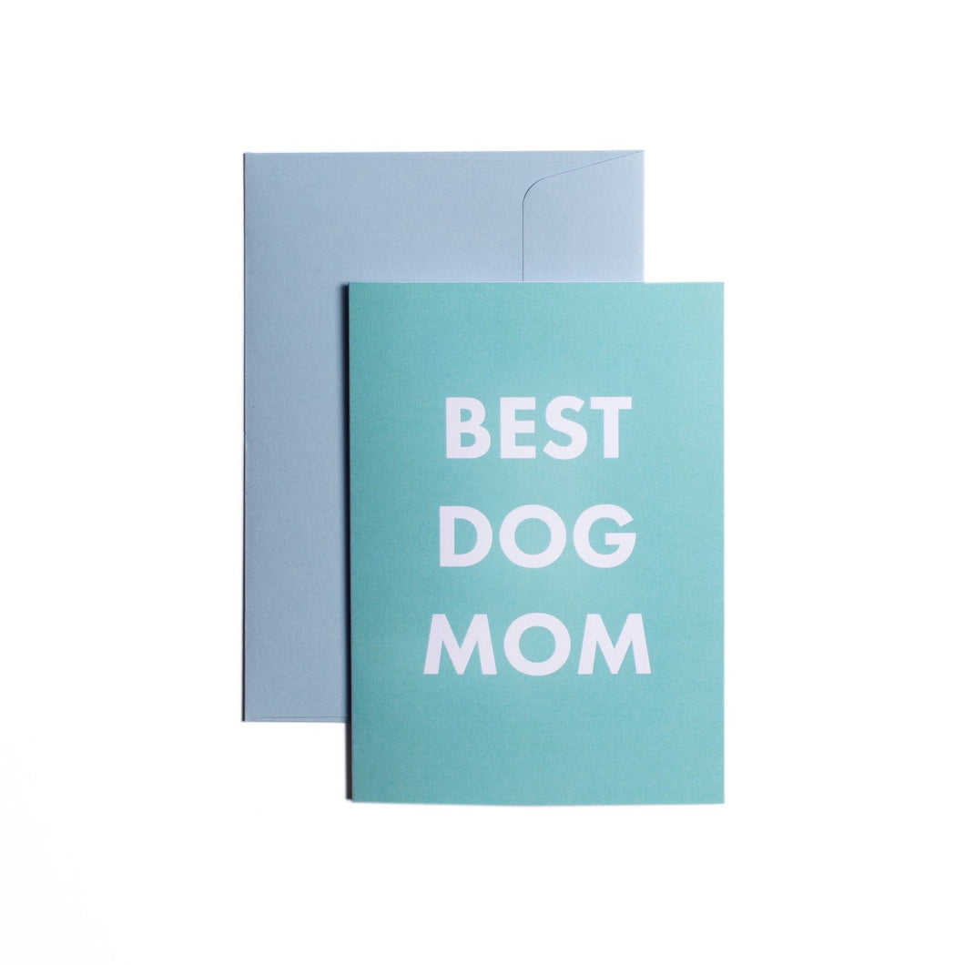 Pooch Design Greeting Card | Best Dog Mom | Smack Bang