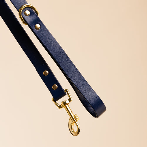 Ollie & James Ink Leather Dog Lead | Smack Bang