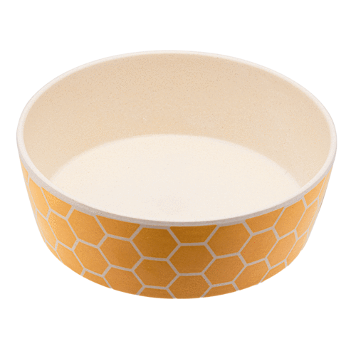 Beco Bamboo Dog Bowl Honeycomb | Smack Bang