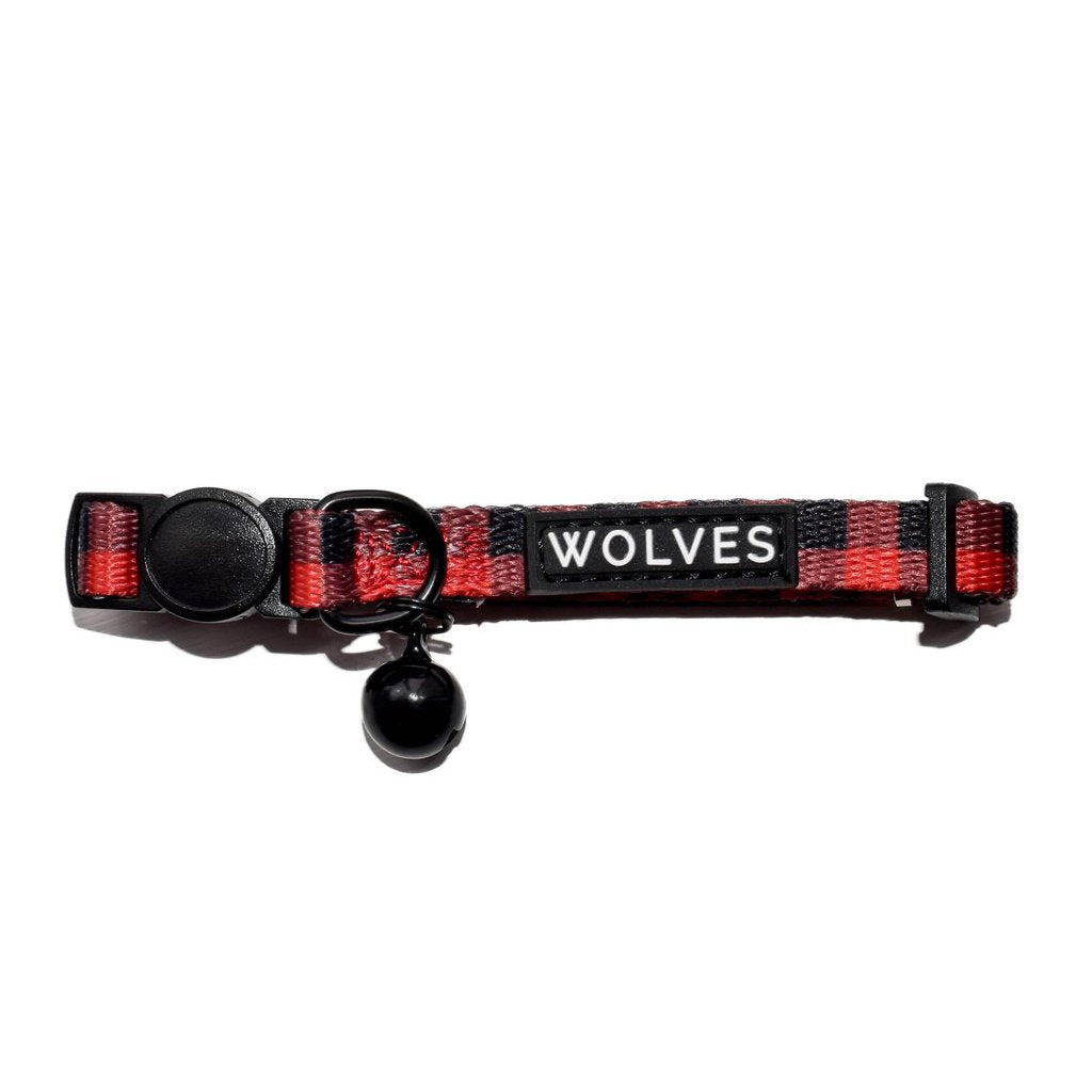 Wolves of Wellington Buffalo Cat Collar | Smack Bang