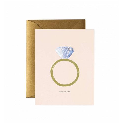 Rifle Paper Co Congrats Engagement Greeting Card | Smack Bang