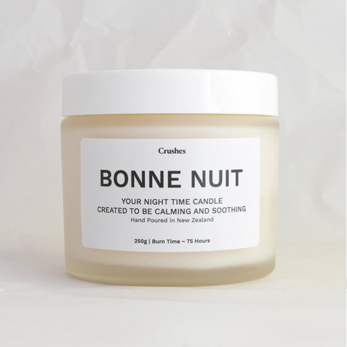 Crushes Night Time Bonne Nuit Scented Soy Wax Candle | Smack Bang