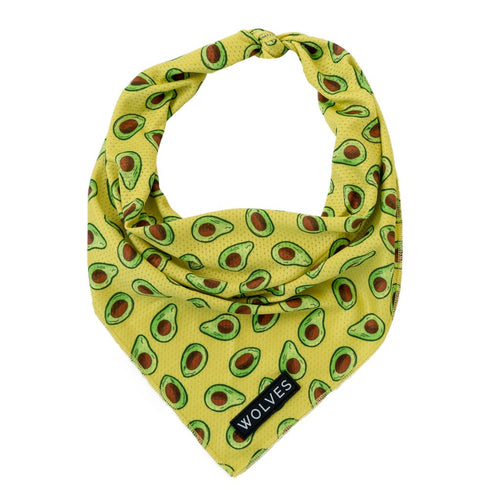 Wolves of Wellington Avo Mesh Dog Bandana | Smack Bang