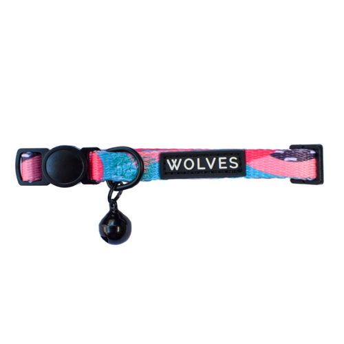 Wolves of Wellington Floss Cat Collar | Smack Bang