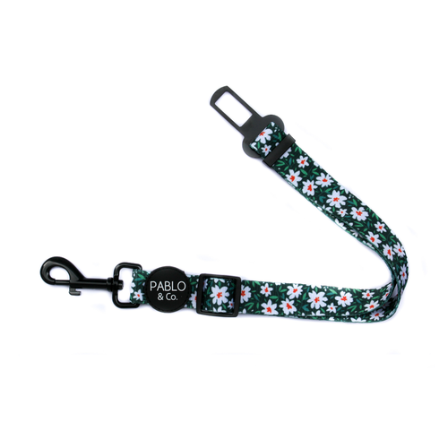 Pablo & Co The Flower Garden Adjustable Car Restraint/Dog Seat Belt | Smack Bang