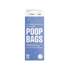 Little Green Dog Compostable Poop Bags 120 Bags | Smack Bang