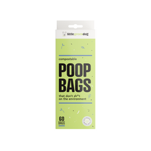 Little Green Dog Compostable Poop Bags 60 Bags | Smack Bang