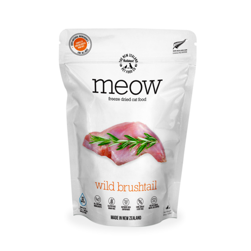 The New Zealand Natural Pet Food Co Meow Wild Brushtail Freeze Dried Cat Bites | Smack Bang
