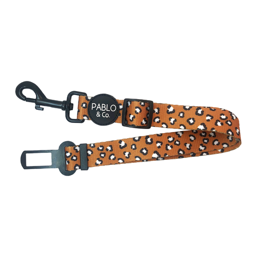 Pablo & Co Adjustable Car Restraint  |  That Leopard Print