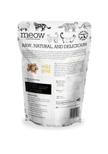 The New Zealand Natural Pet Food Co Meow Wild Goat Cat Treats | Smack Bang