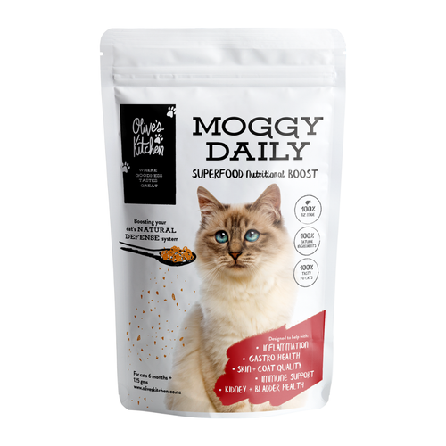 Olive's Kitchen Moggy Daily Superfood Cat Supplement | Smack Bang