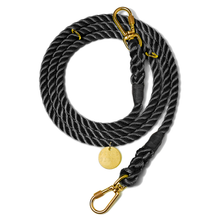 Found My Animal  |  Black Adjustable Rope Leash