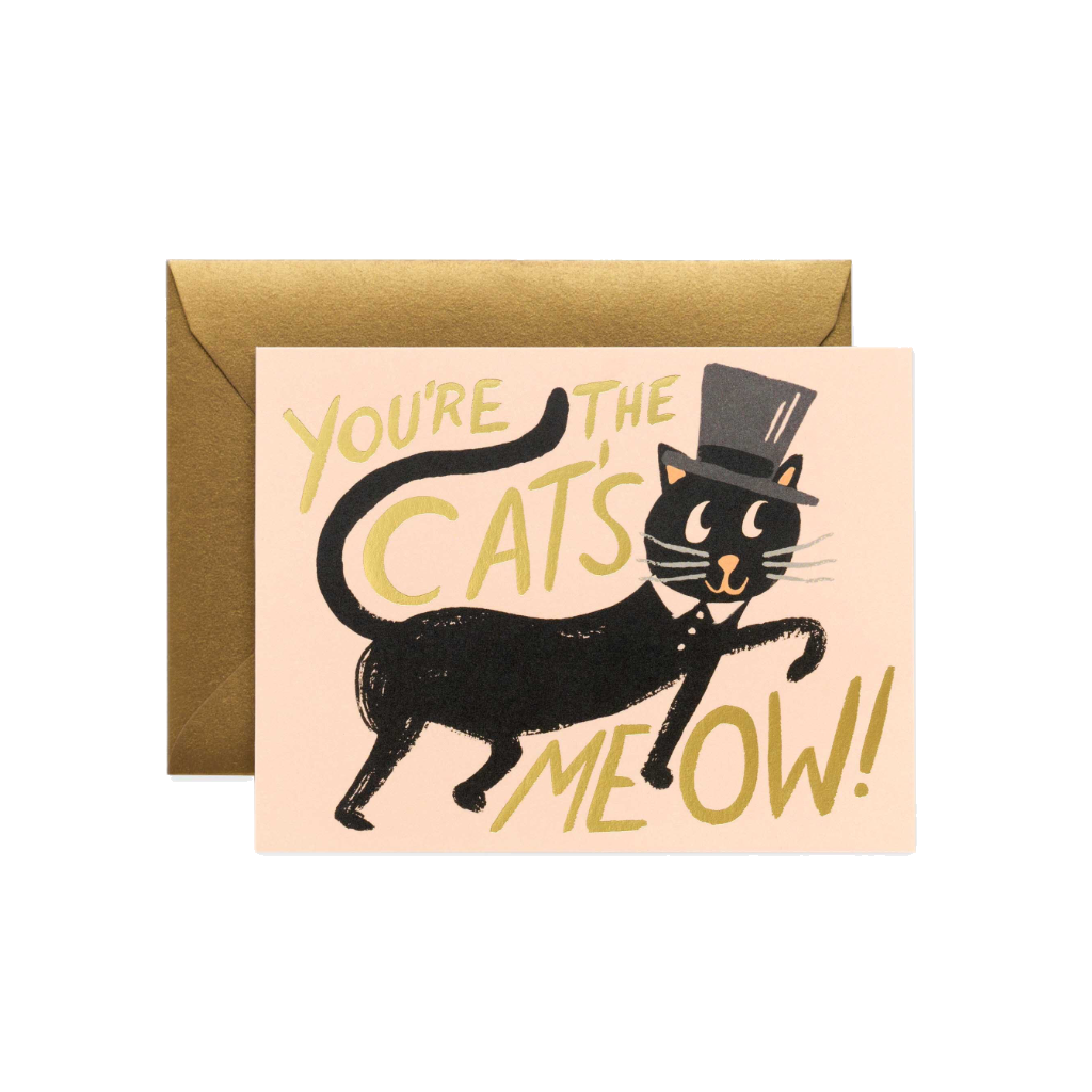 Rifle Paper Co Greeting Card | Cats Meow | Smack Bang