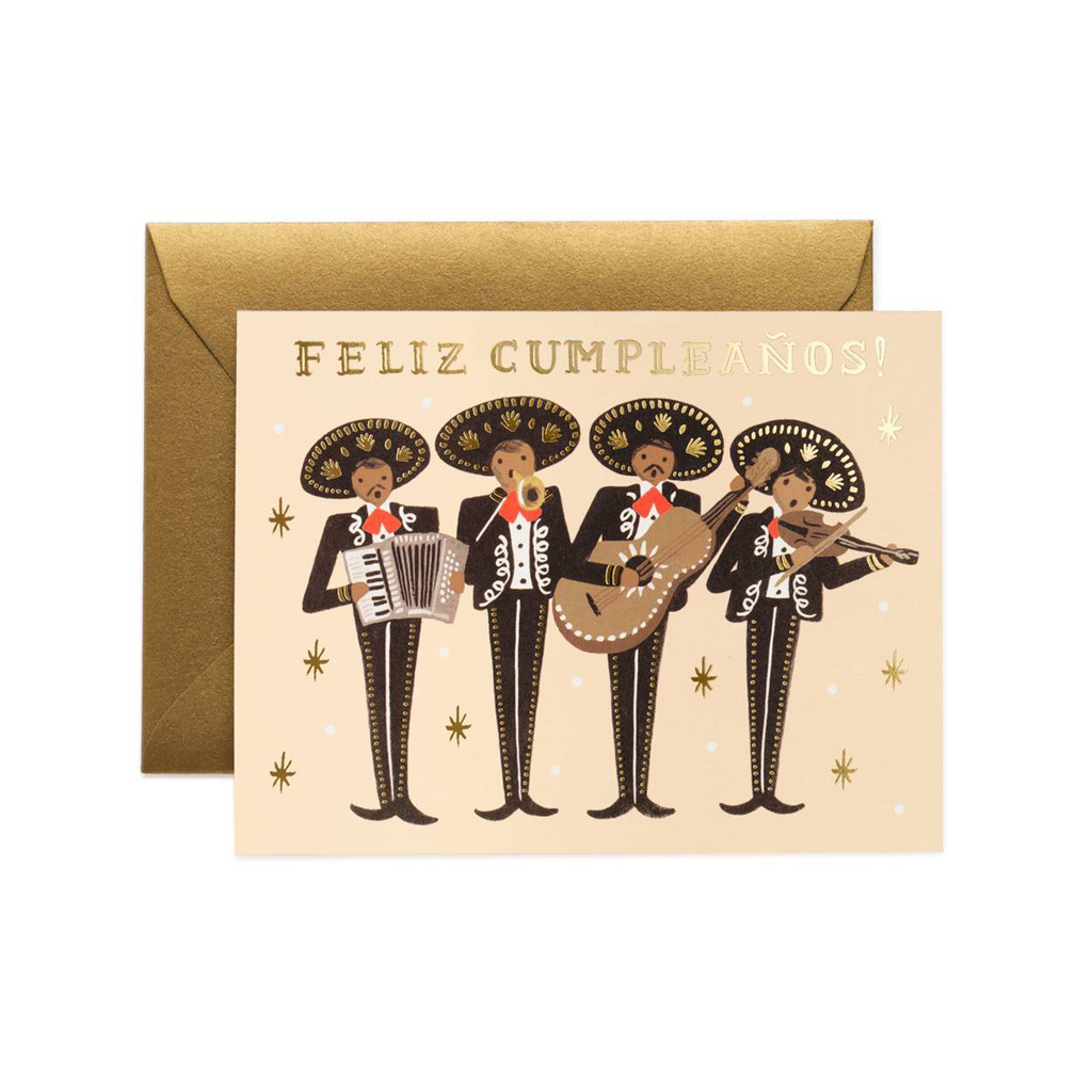 Rifle Paper Co Greeting Card Mariachi Birthday Feliz Cumpleanños | Smack Bang