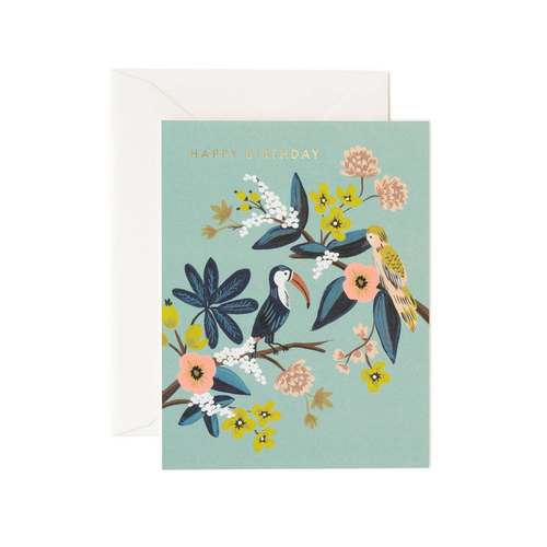 Rifle Paper Co Greeting Card Toucan Happy Birthday | Smack Bang