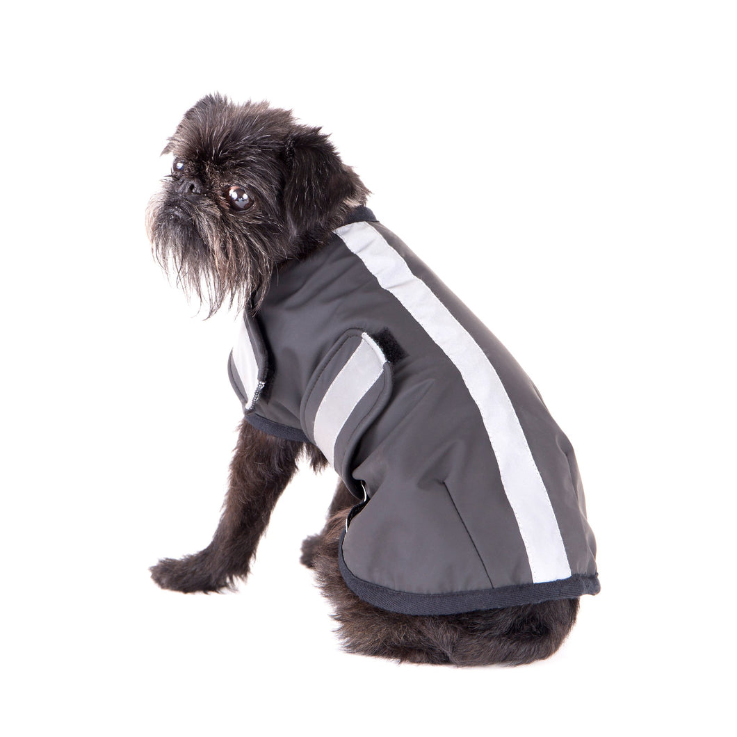 Mr Soft Top Waterproof Wool-Lined Dog Raincoat | Smack Bang