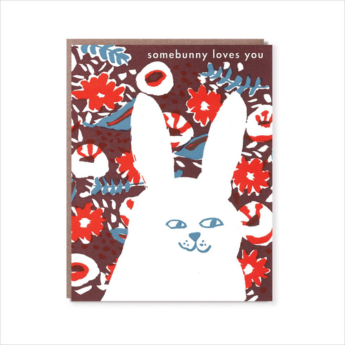 Egg Press Greeting Card Somebunny Loves you | Smack Bang