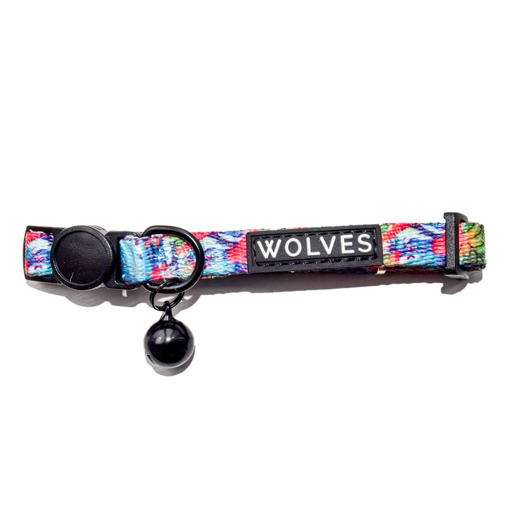 Wolves of Wellington Tropicool Tropical Cat Collar | Smack Bang