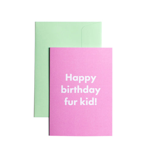 Pooch Design Greeting Card Happy Birthday Furkid | Smack Bang