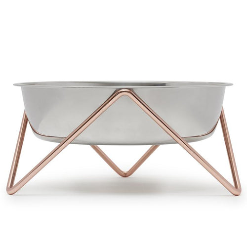 Bendo XL Copper Raised Dog Bowl | Smack Bang