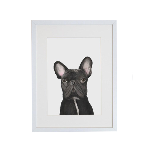 For Me By Dee Print  |  Gilbert the French Bulldog