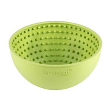 Lickimat Wobble Slow Feeder Bowl Green | Smack Bang