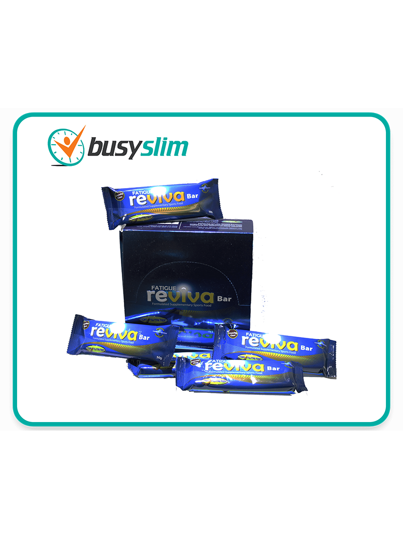 BusySlim 12x Fatigue Reviva Protein Bars
