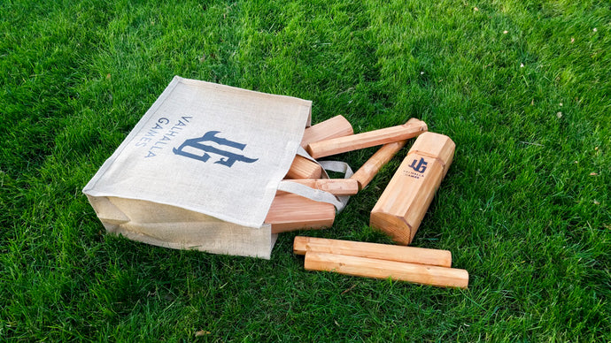 Kubb Set - Redwood