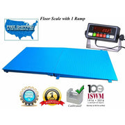 "72"" x 48"" ( 6' x 4') Industrial Floor Scale with a Ramp l 2500 lbs x .5 lb - SellEton Scales"
