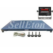 "OPTIMA Op-916-5' x 8' ( 60"" x 96"") Industrial Heavy Duty Floor Scale l 10000 lbs x 1 lb"