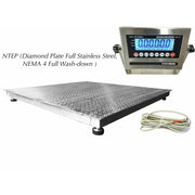OPTIMA OP-916SS NTEP (Legal for trade) Washdown Floor Scale ( ALL Variants )