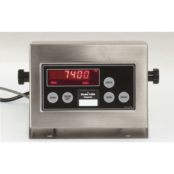 7400 Pennsylvania Scale Digital Indicator Series - SellEton Scales