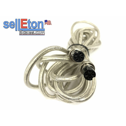 15' Cable with connectors for PS-IN202 Indicator for Prime Scales Floor scale - SellEton Scales