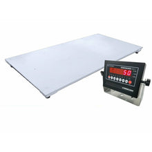 "Load image into Gallery viewer, OPTIMA op-916-5' x 8' / (60"" x 96"") Industrial Floor Scale & LED or LCD display 20k x 5 lb"