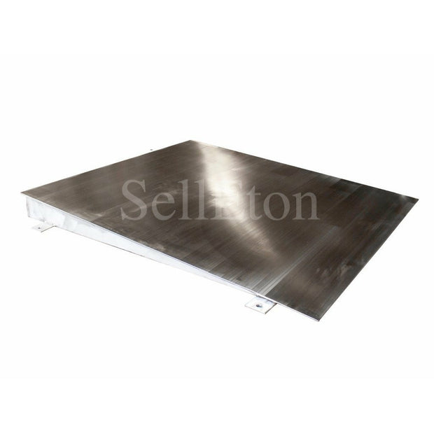 "OPTIMA OP-750SS-4x4 Stainless steel Ramp for floor scale 48"" x 48"" x 4"" 5000 cap."