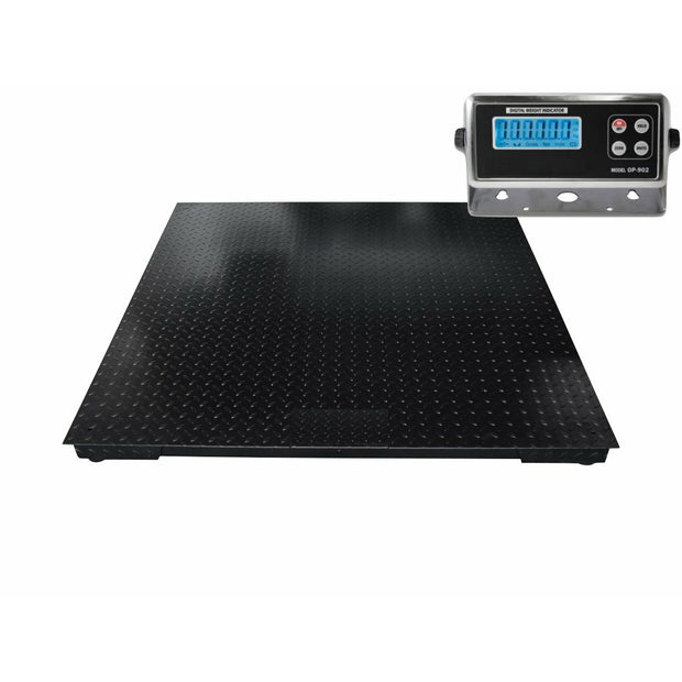 "OPTIMA 5' x 4' (60"" x 48"") Floor Scale / Pallet Scale / warehouse  10,000 lbs x 1 lb"