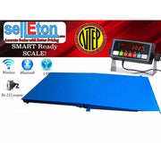 SellEton NTEP 5' x 4' (60'' x 48'') Floor Scale with Ramp 10,000 lbs x 2 lb/ Pallet Size