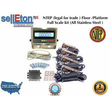 Load image into Gallery viewer, SellEton SL-WK weighing kit (NTEP) Legal for trade / Full kit