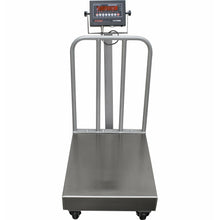 Load image into Gallery viewer, OPTIMA OP-915BW  NTEP Legal for trade Bench Scale with Wheels and Backrail