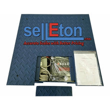 "Load image into Gallery viewer, 48"" x 72"" (4' x 6') Industrial Floor Scale l 5000 lbs x 1 lb - SellEton Scales"