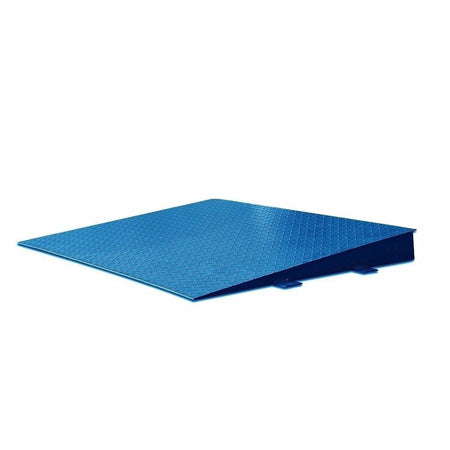 "OP-OP-750-4x3 10000lb 48""x36"" Steel Ramp w/ Bolt-down Holes Fits Most 4'x4' Floor Scales"