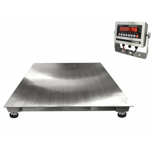 SL-4x4-SS-NTEP (Legal for trade) Washdown Floor Scale ( ALL Variants )