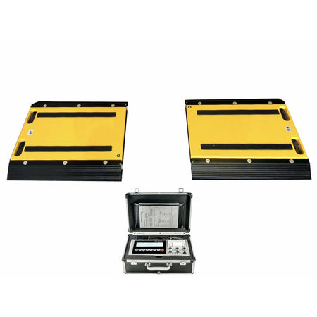"OPTIMA OP-928-1624  16"" x 24"" x 2"" Two Portable Weigh Pads / Indicator & Printer/ 50,000 lbs x 20 lb"