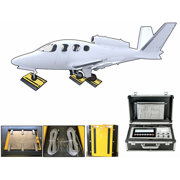 SL-AIR-928 Air plane weigh pad system with Capacity of 75,000 lbs!