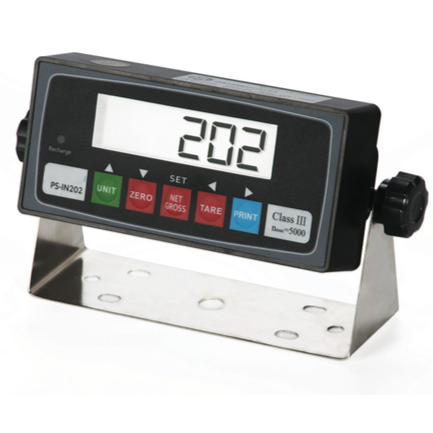 PS-IN202 LCD NTEP Legal For Trade Indicator l Compatible with any Floor Scale