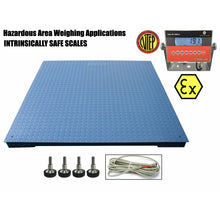 "Load image into Gallery viewer, SellEton SL-4x4-Explosion (Legal) Industrial 48"" x 48"" intrinsically safe NTEP Floor scale"